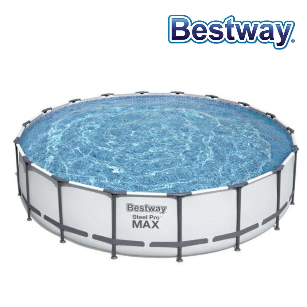 Piscine tubulaire Steel Pro Max Bestway