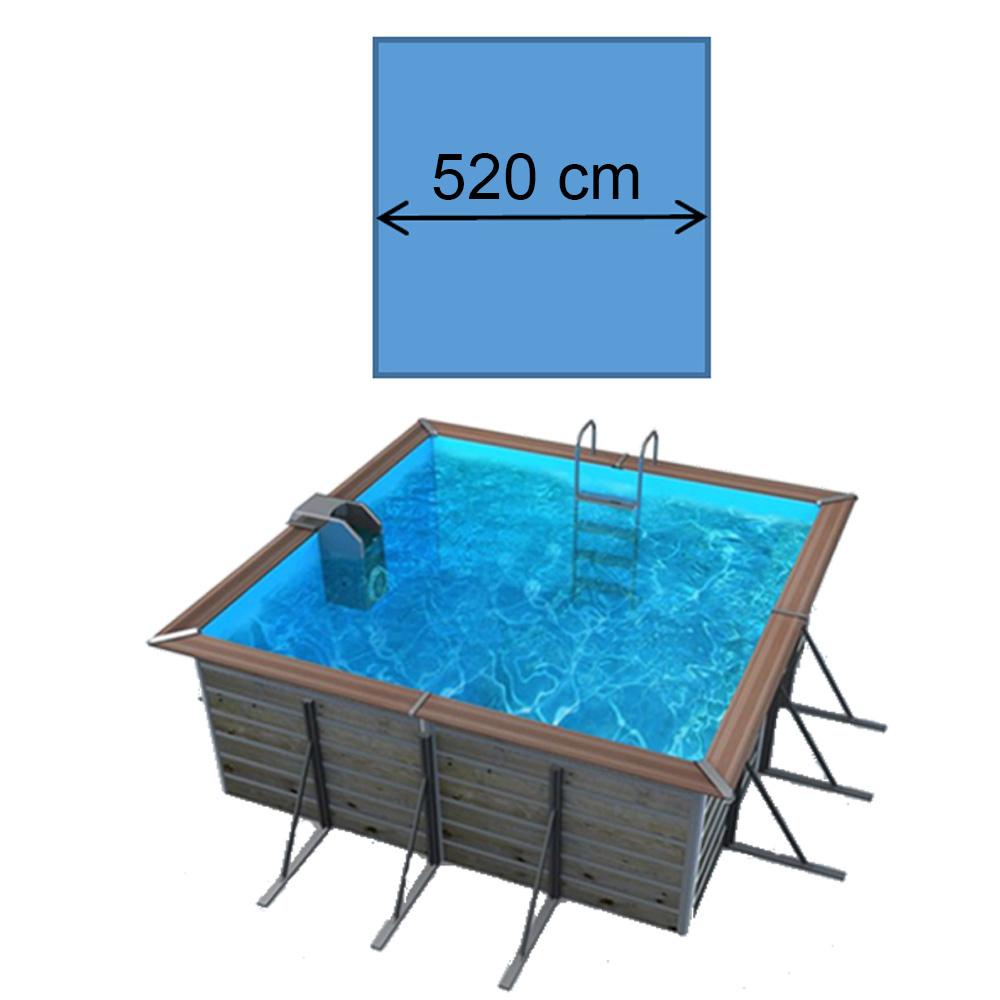 Piscine waterclip Solta 520 x 520 x 147 cm