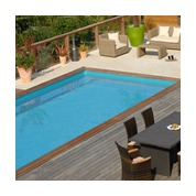 Piscine Woodfirst Original rectangulaire 600 x 400 x 133 cm