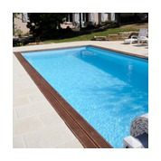Piscine Woodfirst Original rectangulaire 800 x 400 x 146 cm