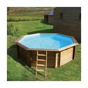 Piscine en bois et accessoires pour piscine bois piscine for Piscine cerland