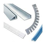 Profilés d'accrochage alu et PVC pour liner piscine