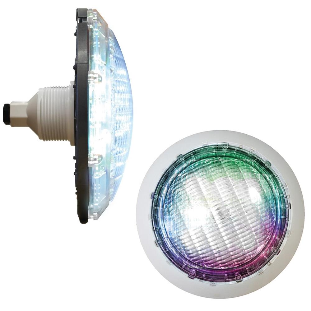 Projecteur LED piscine pour traversée de paroi