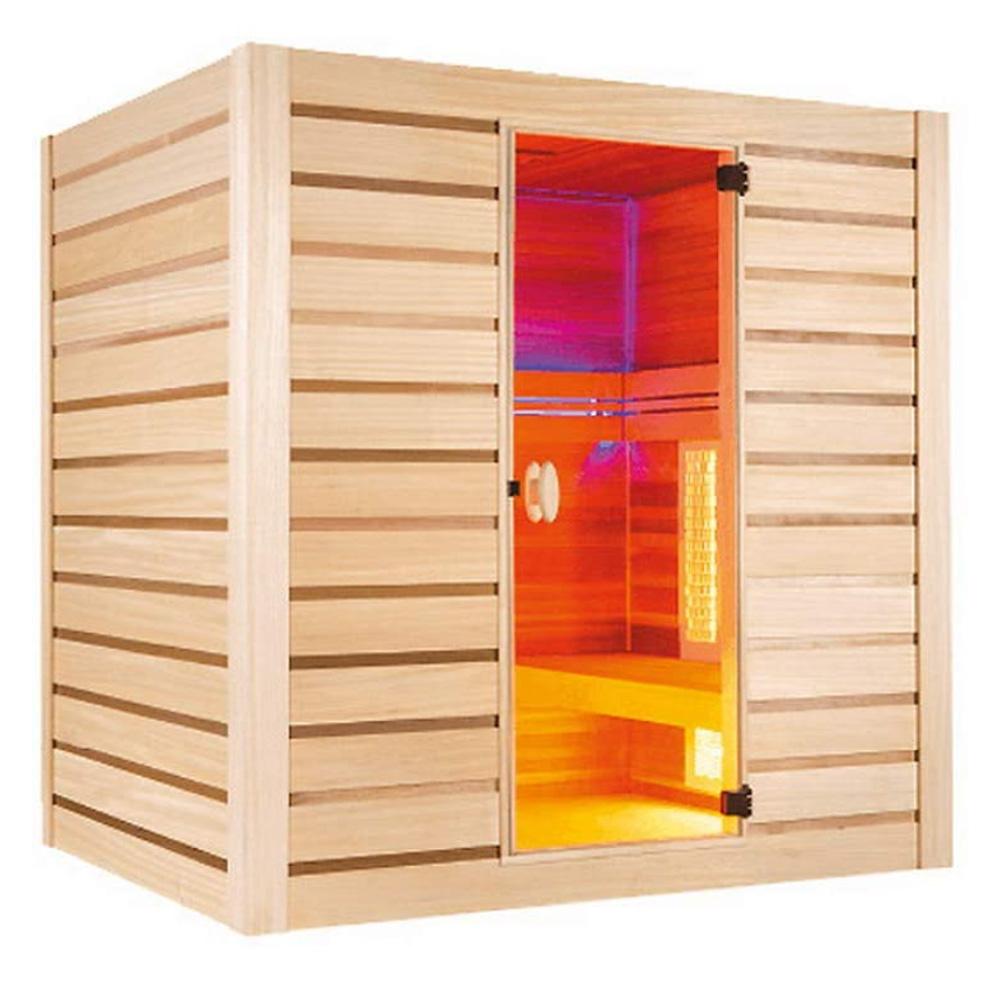 Sauna infrarouge Holl's Hybride Combi