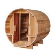 Sauna Tonneau vapeur Red Cedar