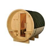Sauna tonneau vapeur pin
