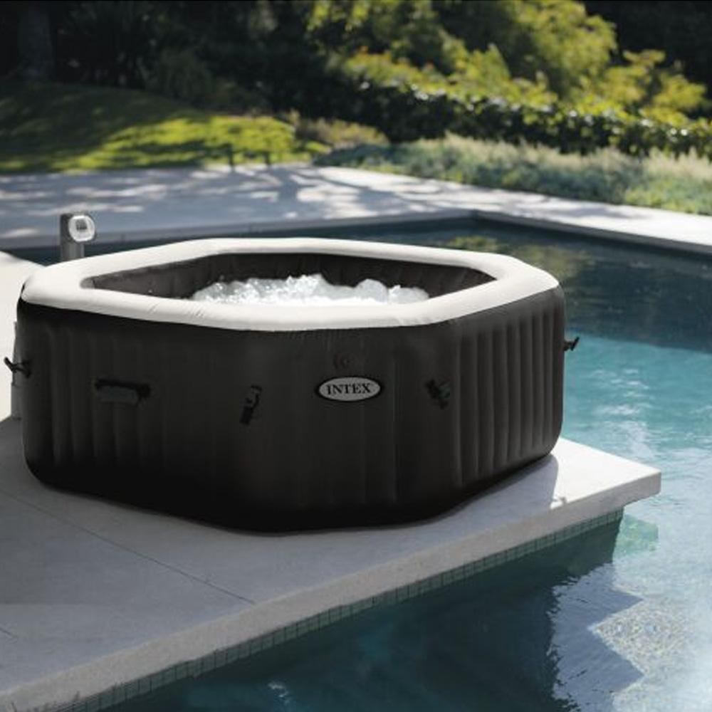 Spa piscine une pl thore de spas gonglables portables for Piscine portable intex
