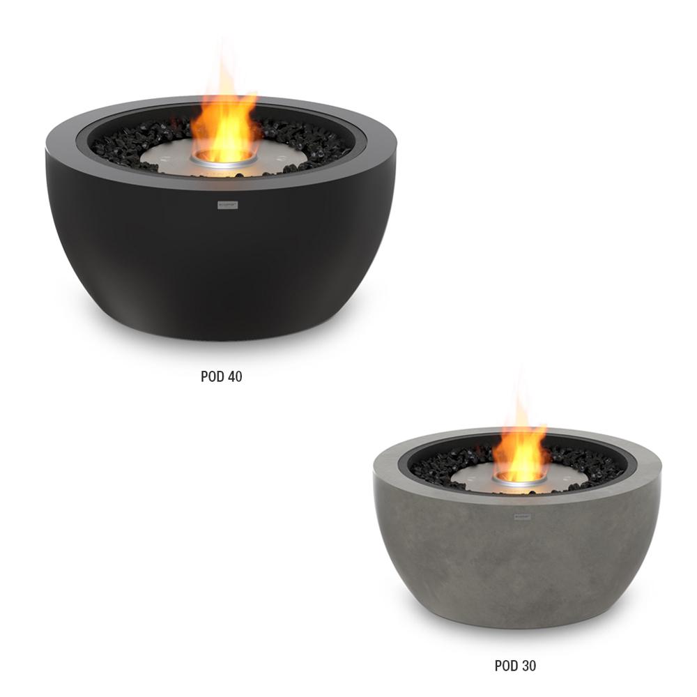Table de feu Série Pod - Ecosmart Fire