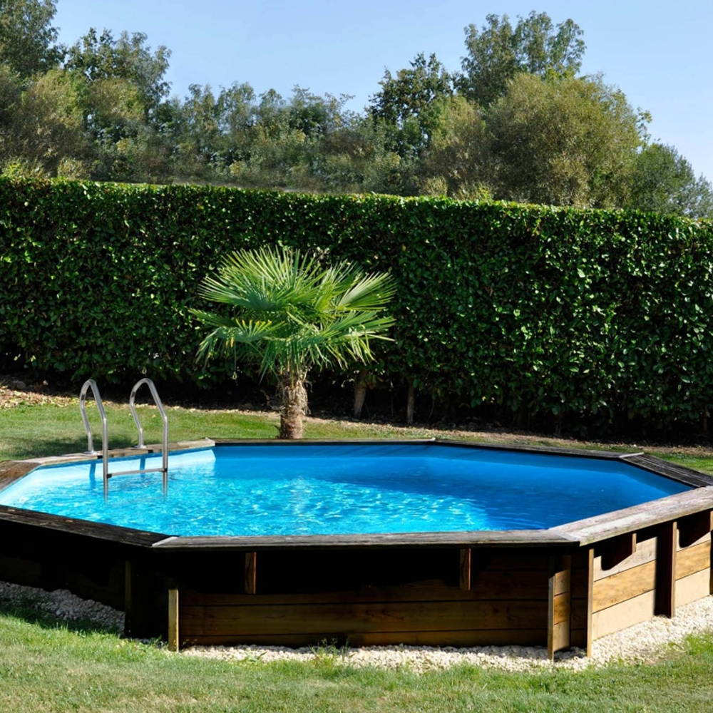 Woodfirst Original Piscine bois octogonale