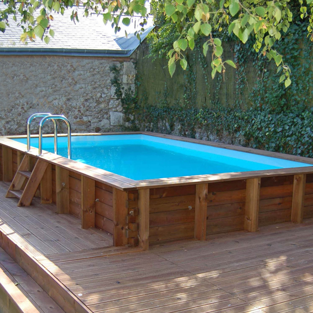 Woodfirst Original piscine bois rectangulaire