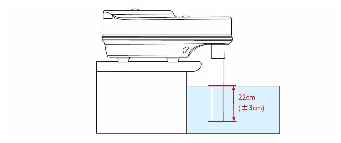 installation de l'alarme de sécurité de piscine sensor premium