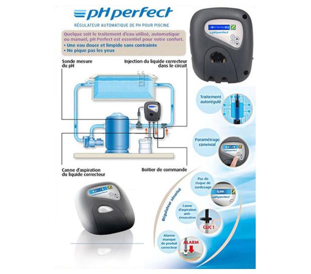 Régulateur pH Perfect ZODIAC - schema montage