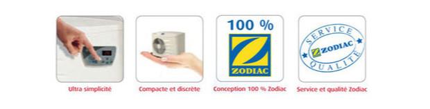 zodiac - bandeau garantie