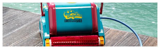 dolphin 2001 robot de piscine brosses picots