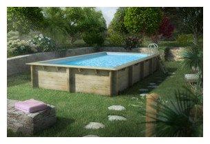 piscine bois hors-sol weva