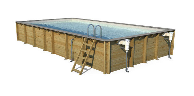 piscine bois weva vue biais