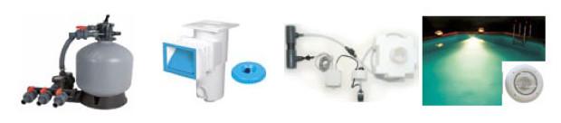 piscine bois rectangulaire equipement filtration