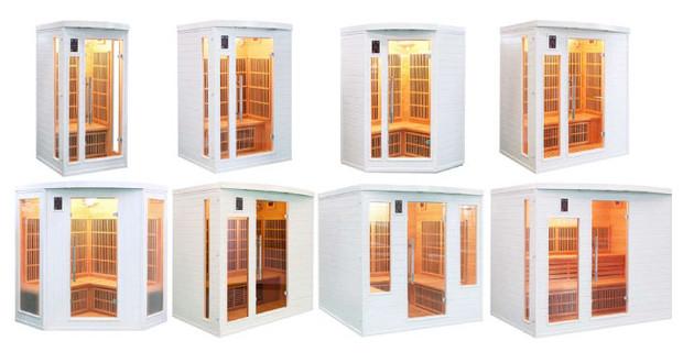soleil blanc france sauna cabines