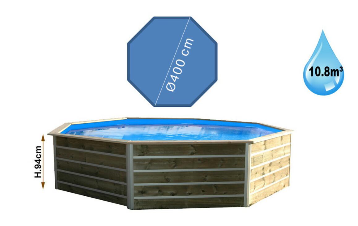 dimensions piscines bois waterclip bohol