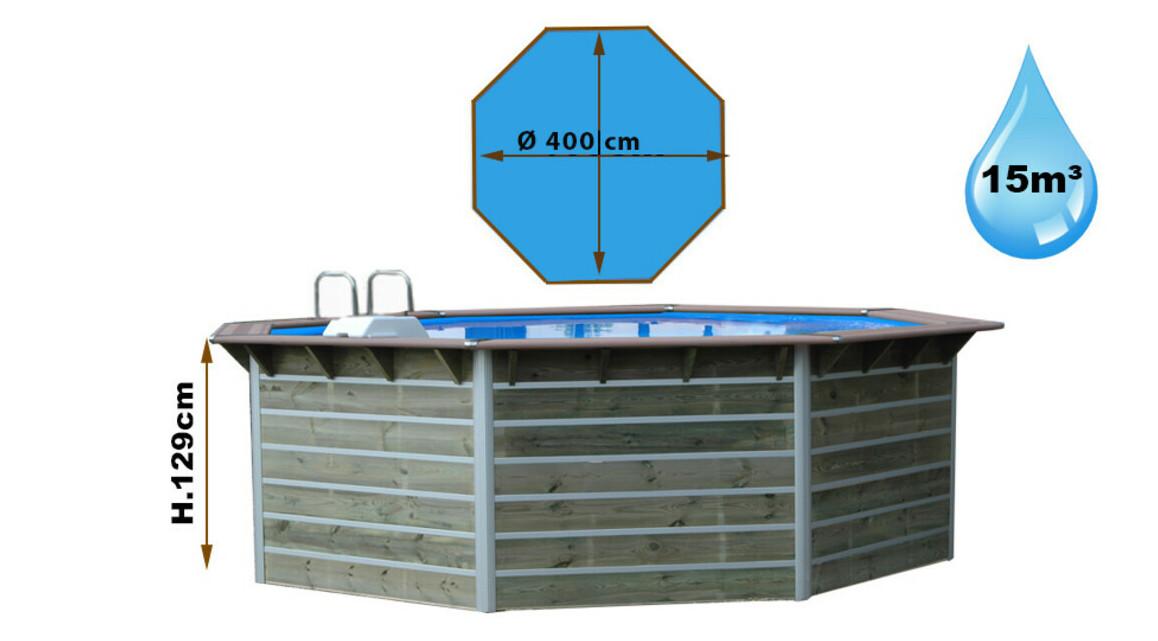 dimensions piscine bois waterclip cleofas