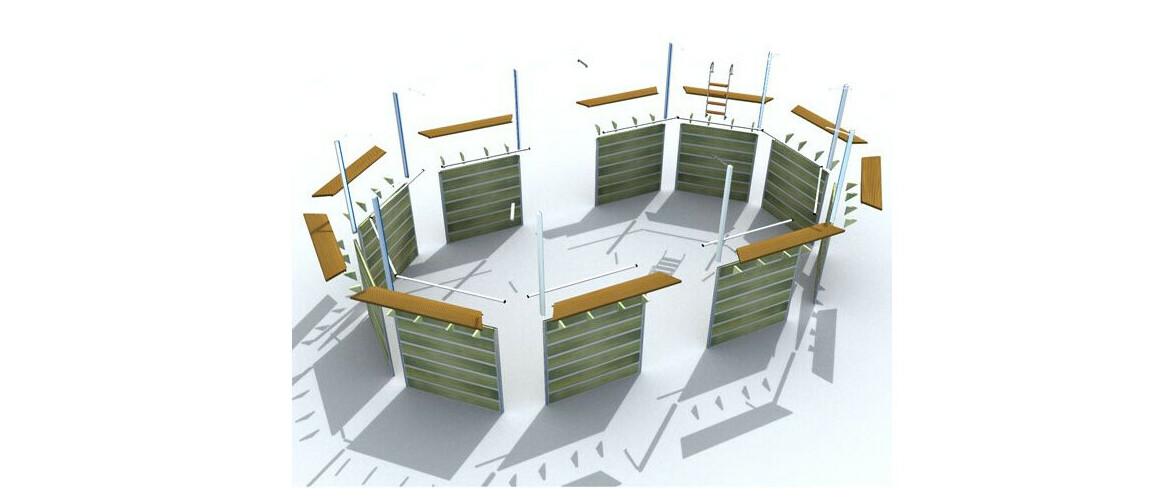 structure piscine bois waterclip lucon