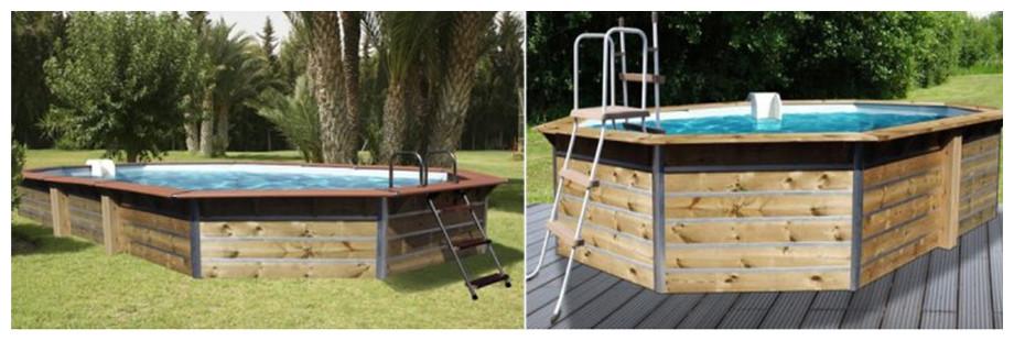 modèle de piscine octogonale allongée waterclip siayan et calayan