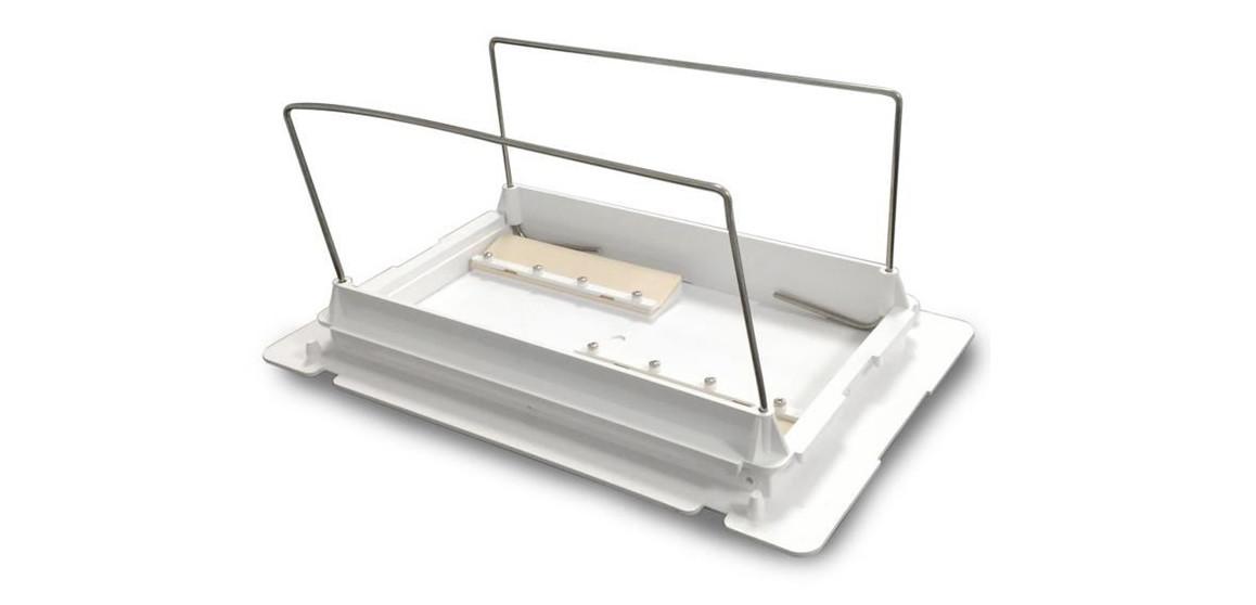 porte filtre blanc complet pour robot électriques zodiac