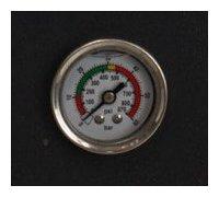 steelpac - pompe a chaleur manomètre