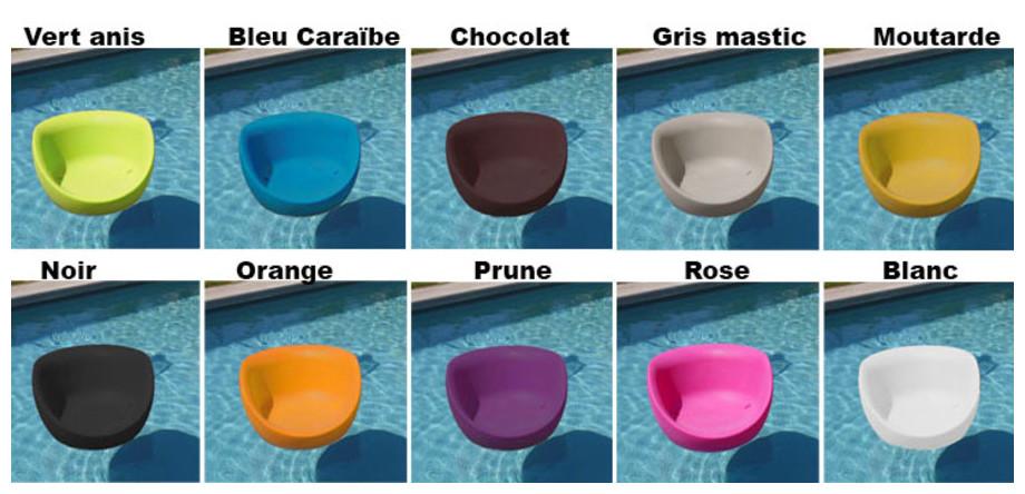 coloris des fauteuils Boon's