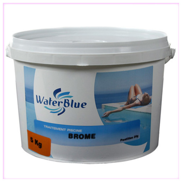 Brome piscine les produits de traitement au brome for Piscine brome