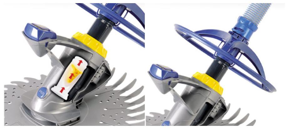 Robot hydraulique T3 par Zodiac - mécanisme