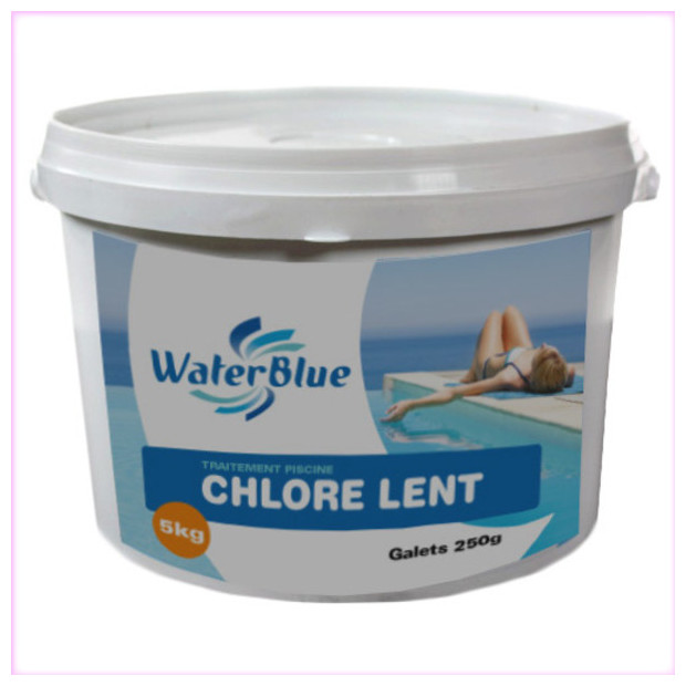 Chlore lent piscine for Piscine brome
