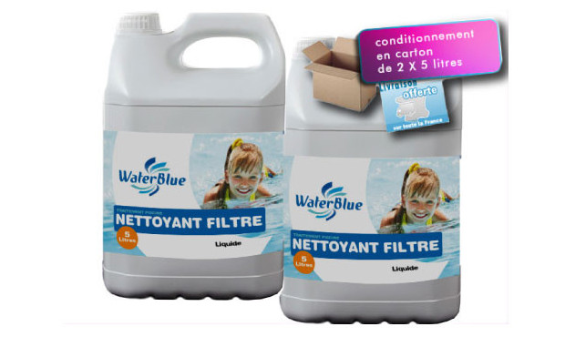 Waterblue liquide de d tartrage pour filtre sable for Blue water parts piscine