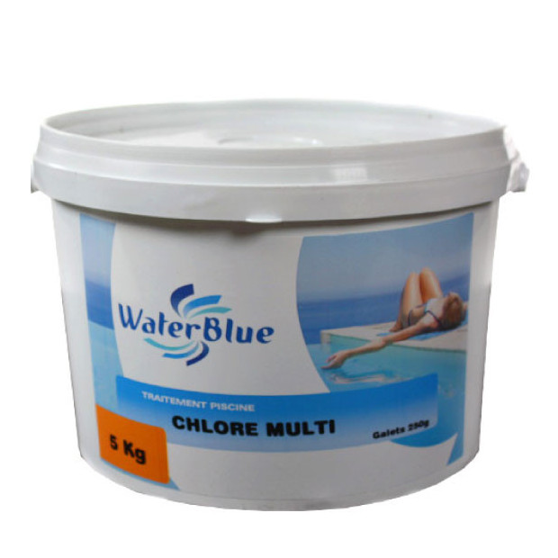 Chlore piscine multi actions en galets piscine center net for Chlore piscine