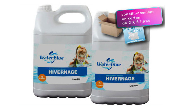 produit hivernage piscine waterblue packaging