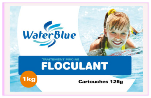 Floculant piscine waterblue piscine center net for Blue water parts piscine
