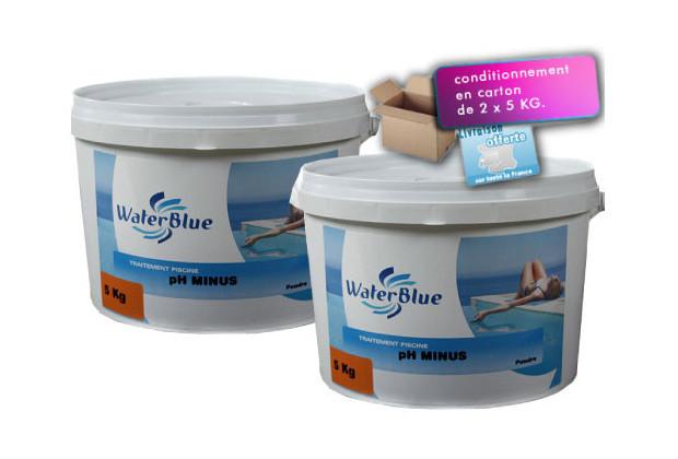 Waterblue poudre ph pour l 39 quilibre de l 39 eau piscine for Blue water parts piscine