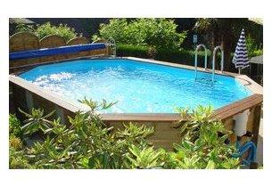 cerland odyssea piscine en bois octogonale