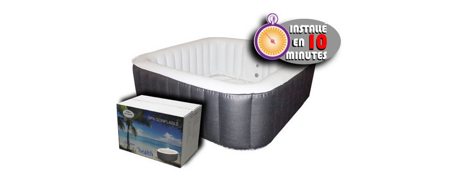 Spa gonflable water 39 health piscine center net - Spa gonflable consommation electrique ...