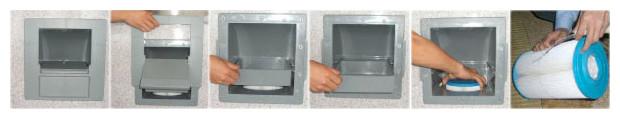 spa rigide - entretien cartouche filtre