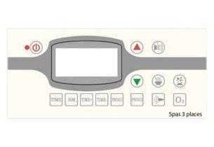 spa rigide panneau de contrôle petit modele