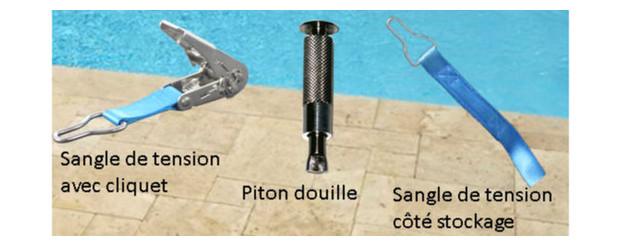 Couverture piscine barres 4 saisons securit pool for Sangle pour bache a bulle piscine