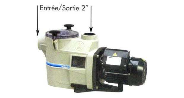 Pompe filtration kripsol raccords