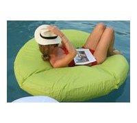 Matelas gonflable vert pour piscine