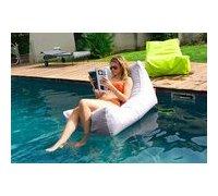 fauteuil flottant de piscine gris