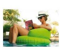 Siège gonflable de piscine vert
