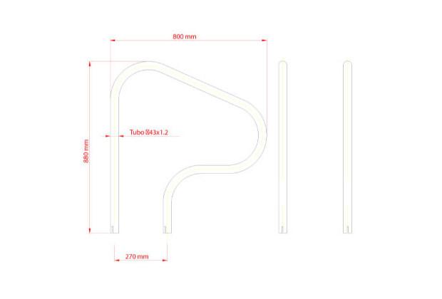 sortie de bain inox 800x800 dimensions 1