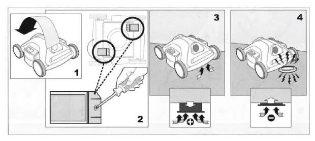 D1 robot nettoyeur soupapes admission