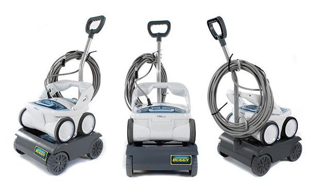 Robot piscine D10 + chariot 3 vues