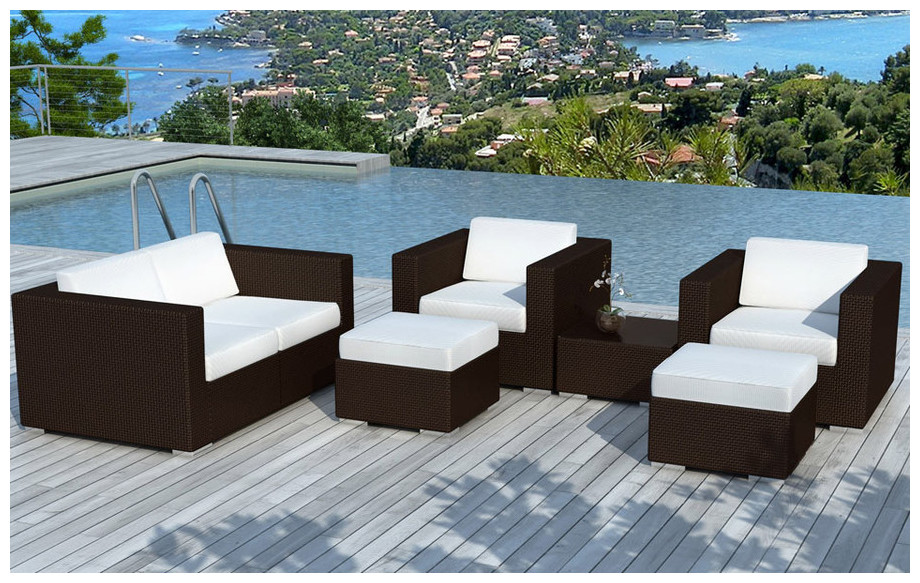 Salon de jardin de détente - Canapé et fauteuils | Piscine-Center.Net